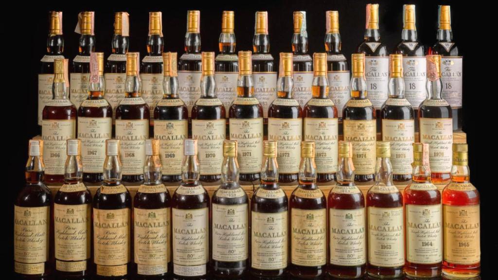 На аукционе Sotheby's продадут самую ценную в мире коллекцию виски