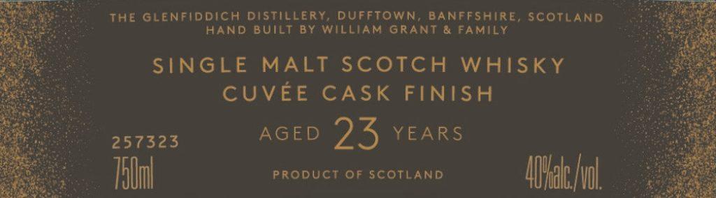 Glenfiddich анонсирует запуск 23-летнего Grand Cru виски