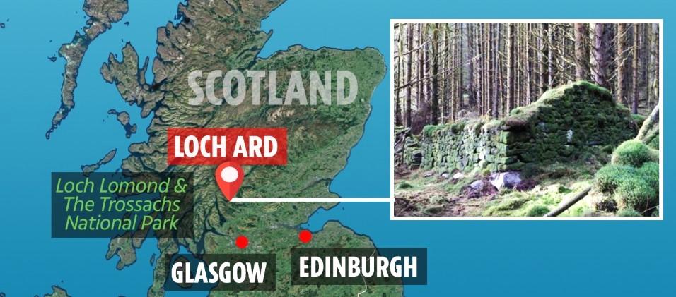 Археологи из Forest and Land Scotland нашли разгадку загадочного сооружения в лесах Шотландии