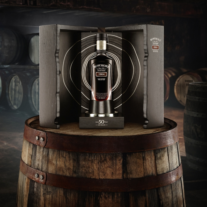 Aston Martin and Bowmore to create exclusive bottlings