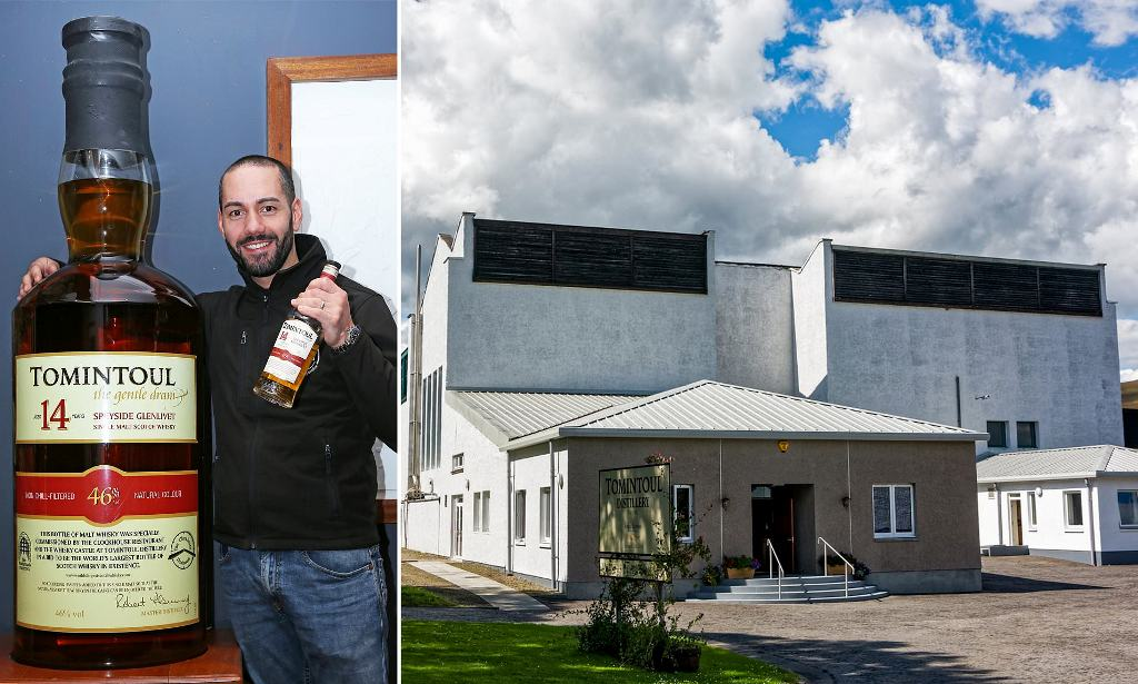 105-LITRE BOTTLE OF WHISKY EXPECTED TO SELL FOR £15K