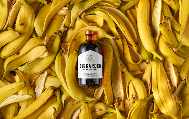 Discarded creates rum with banana peel