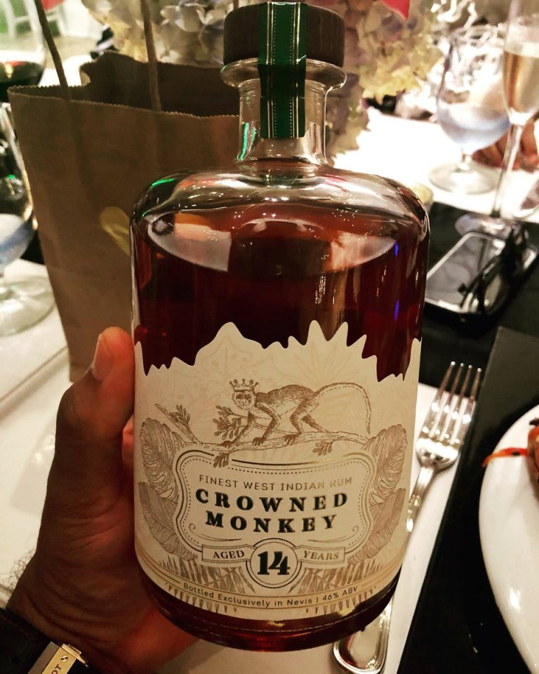 Crowned Monkey Rum 14 YO