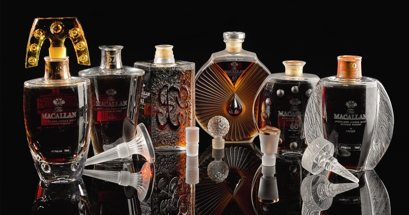 The Macallan in Lalique Six Pillars Collection