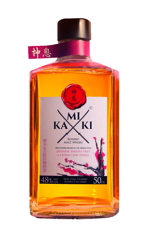 Kamiki Sakura Cask Finish Japanese whisky